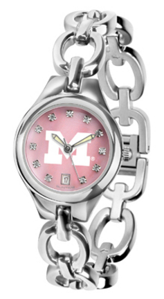 Michigan Wolverines Eclipse Ladies Watch with Mother of Pearl Dial