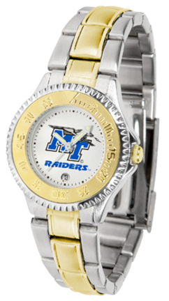 Middle Tennessee State Blue Raiders Competitor Ladies Watch with Two-Tone Band