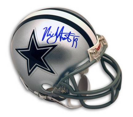 Miles Austin Autographed Dallas Cowboys Mini Helmet