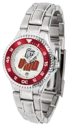 Minnesota (Duluth) Bulldogs Competitor Ladies Watch with Steel Band