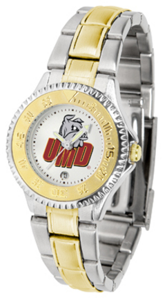 Minnesota (Duluth) Bulldogs Competitor Ladies Watch with Two-Tone Band