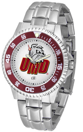 Minnesota (Duluth) Bulldogs Competitor Men's Watch with Steel Band