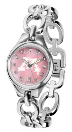 Minnesota Golden Gophers Eclipse Ladies Watch with Mother of Pearl Dial