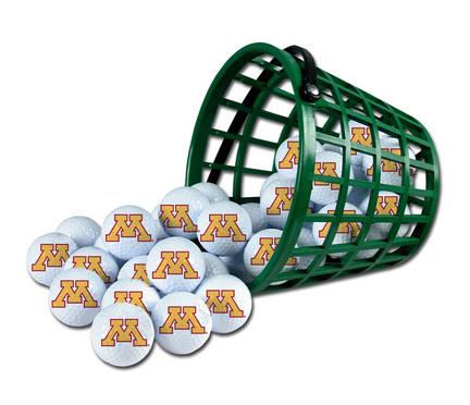 Minnesota Golden Gophers Golf Ball Bucket (36 Balls)