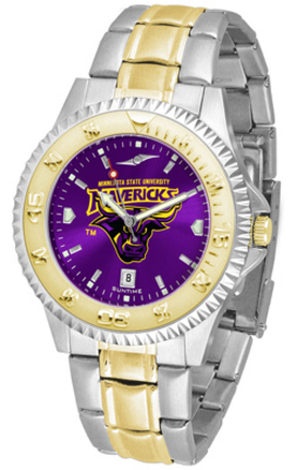 Minnesota State-Mankato Mavericks Competitor AnoChrome Two Tone Watch