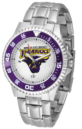 Minnesota State-Mankato Mavericks Competitor Men's Watch with Steel Band