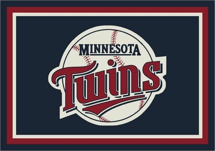"""Minnesota Twins 3'10"""" x 5'4"""" Team Spirit Area Rug"""