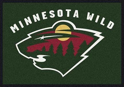 "Minnesota Wild 3' 10"" x 5' 4"" Team Spirit Area Rug"