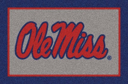 "Mississippi (Ole Miss) Rebels 3'10"" x 5'4"" Team Spirit Area Rug"