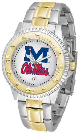 Mississippi (Ole Miss) Rebels Competitor Two Tone Watch