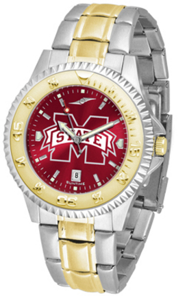 Mississippi State Bulldogs Competitor AnoChrome Two Tone Watch