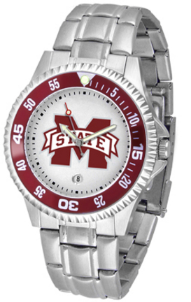Mississippi State Bulldogs Competitor Watch with a Metal Band