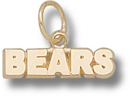 "Missouri State University Bears ""Bears"" Charm - 14KT Gold Jewelry"