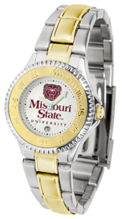 Missouri State University Bears Competitor Ladies Watch with Two-Tone Band