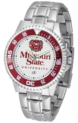 Missouri State University Bears Competitor Watch with a Metal Band