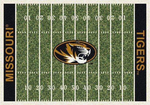 "Missouri Tigers 3' 10"" x 5' 4"" Home Field Area Rug"