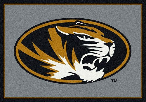 "Missouri Tigers 3'10"" x 5'4"" Team Spirit Area Rug"