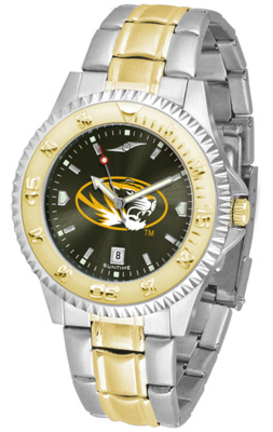 Missouri Tigers Competitor AnoChrome Two Tone Watch