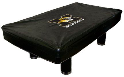 Missouri Tigers MVP Universal Fit Billiard Table Cover