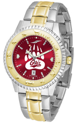 Montana Grizzlies Competitor AnoChrome Two Tone Watch