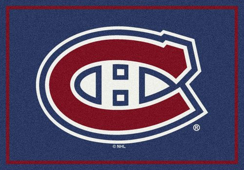 "Montreal Canadiens 3' 10"" x 5' 4"" Team Spirit Area Rug"