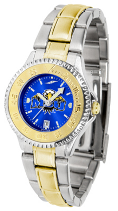 Morehead State Eagles Competitor AnoChrome Ladies Watch with Two-Tone Band