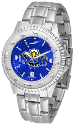 Morehead State Eagles Competitor AnoChrome Men's Watch with Steel Band