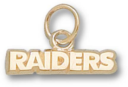 "Mount Union Purple Raiders ""Raiders"" 1/8"" Charm - 14KT Gold Jewelry"