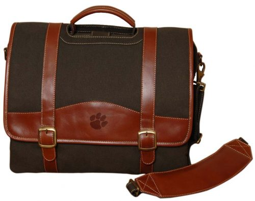 NCAA Clemson Tigers Greenmill Canyon Computer Briefcase