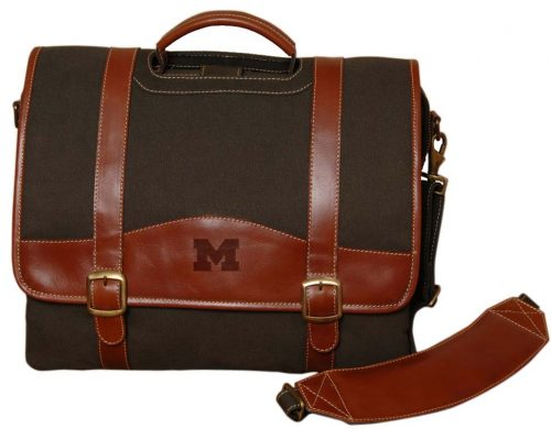 NCAA Michigan Wolverines Greenmill Canyon Computer Briefcase