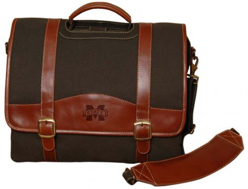 NCAA Mississippi State Bulldogs Greenmill Canyon Computer Briefcase