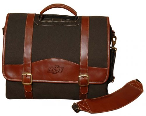 NCAA Oklahoma State Cowboys Greenmill Canyon Computer Briefcase