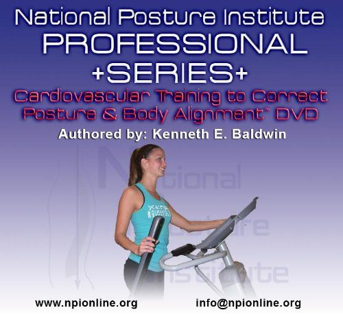 National Posture Institute Cardiovascular Training In Correct Posture And Body Alignment - DVD