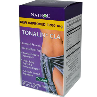 Natrol 0989509 Tonalin CLA - 1200 mg - 90 Softgels
