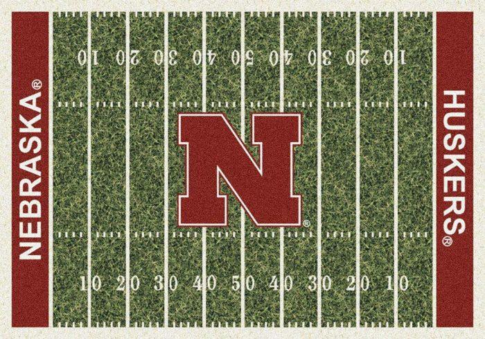 "Nebraska Cornhuskers 3' 10"" x 5' 4"" Home Field Area Rug"