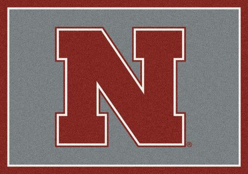 "Nebraska Cornhuskers 3'10""x 5'4"" Team Spirit Area Rug"