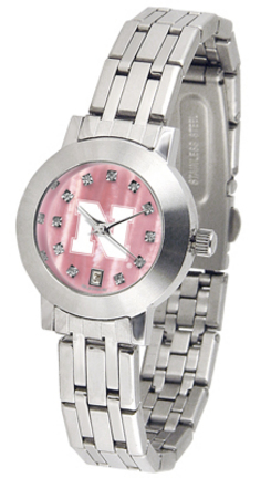 Nebraska Cornhuskers Dynasty Ladies Watch with Mother of Pearl Dial