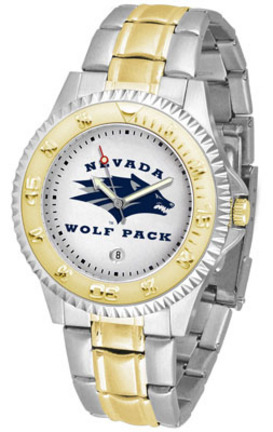 Nevada Wolf Pack Competitor Two Tone Watch
