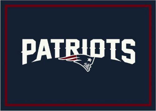 "New England Patriots 3' 10"" x 5' 4"" Team Spirit Area Rug (Navy Blue)"