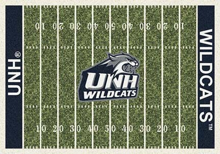 "New Hampshire Wildcats 3' 10"" x 5' 4"" Home Field Area Rug"