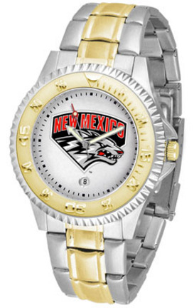 New Mexico Lobos Competitor Two Tone Watch