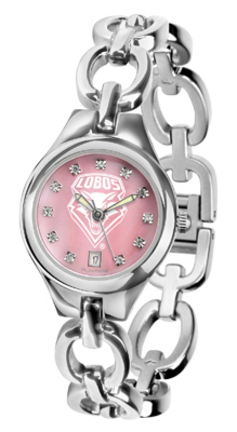 New Mexico Lobos Eclipse Ladies Watch with Mother of Pearl Dial