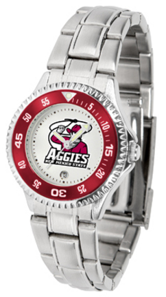 New Mexico State Aggies Competitor Ladies Watch with Steel Band