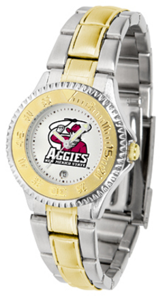 New Mexico State Aggies Competitor Ladies Watch with Two-Tone Band