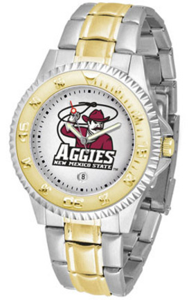 New Mexico State Aggies Competitor Two Tone Watch