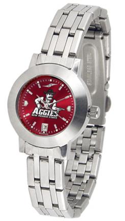 New Mexico State Aggies Dynasty AnoChrome Ladies Watch