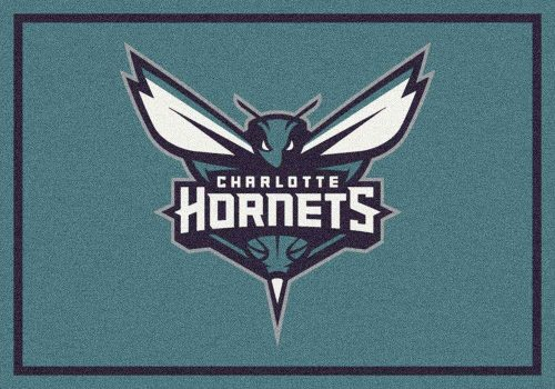 "New Orleans Hornets 3' 10"" x 5' 4"" Team Spirit Area Rug"