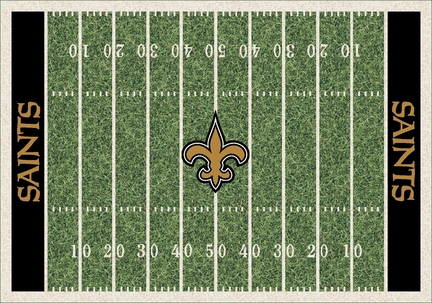 "New Orleans Saints 3' 10"" x 5' 4"" Home Field Area Rug"