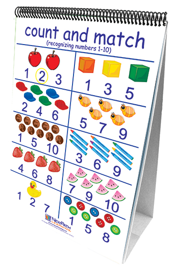 New Path Learning NP-330024 Number Sense 10 Double Sided Curriculum Mastery Flip Charts