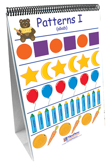 New Path Learning NP-330027 Patterns And Sorting 10 Double Sided Curriculum Mastery Flip Cht
